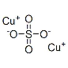 Name: Sulfuric acid,copper(1+) salt (1:2) CAS 17599-81-4