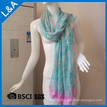 Spring Woman Rayon Scarves