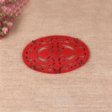 Esmalte de ferro fundido padrões de beleza almofada térmica