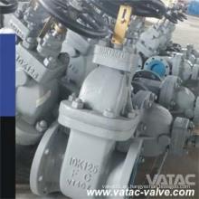 Válvula de compuerta marina JIS Std con accionamiento manual