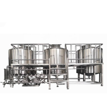 High Efficiency Complete Turnkey Electric 400L 500L 600L 800L 1000L Small Beer Brewing Equipment Plant