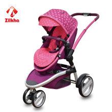 Детская коляска с рамкой и двумя в одном