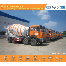 Concrete mixer drum truck North-Benz hot sale