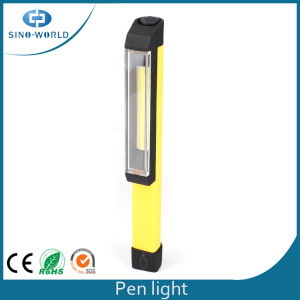 3W COB LED Battery Powered Pen Flashlight