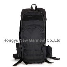 Factory Fashion Black Molle sac à dos en cuir sac à dos (HY-B084)
