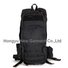 Factory Fashion Black Molle Sports Backpack Knapsack (HY-B084)