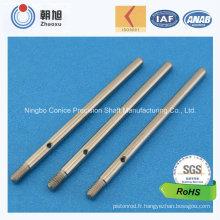 Chine Fournisseur CNC usinage personnalisé arbre d'entraînement
