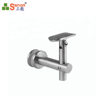 Foshan manufacturers direct stainless steel on the wall armrest bracket, baluster accessories, glass bracket