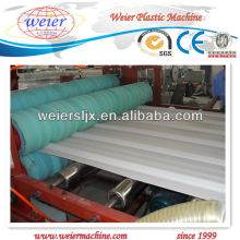 CE certificate PVC corrugated roof sheet machine
