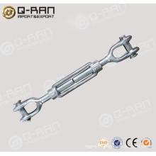 US type galvanisé acier forgé mâchoire et mâchoire biellette gréement