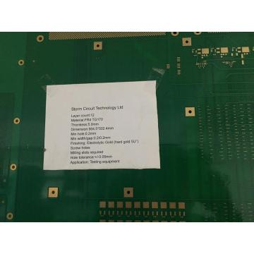 12 layer 5.0mm   PCB