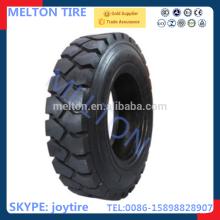 Pneu da empilhadeira da fábrica 28x9-15 do pneu de ShanDong com vida longa do uso