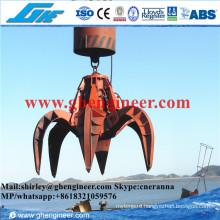 15t Steel Scrap Orange Peel Motor Hydraulic Grab