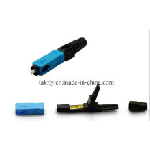 0.9mm/2.0mm/3.0mm Fiber Optic Cable Embedded Type Sc/Upc Fast Connector