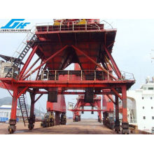 Bulk Cargo Unloading Machine Mobile Railway Port Hopper