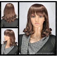 Deep Curly Synthetic Wig The Popular Lace Front Wig (HQ-SW-DC1)