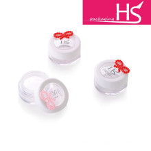 cute lovely girl mini loose powder jars