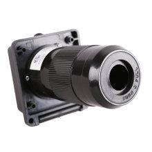 White 50A RV Power Cord Twist Lock Inlet ETL-certificatioon