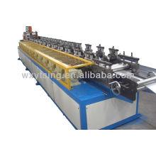 Máquina automática completa YTSING-YD-0370 Rollo de listón de obturador que forma el corte de máquina sin parada