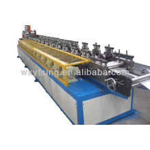 Full Automatic Machinary YTSING-YD-0370 Shutter Slat Roll Forming Machine Cutting without Stop