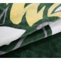 wholesale OEM custom digital printed flannel fleece blanket