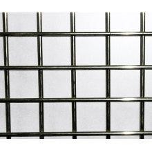 Rede de arame soldada de aço inoxidável, placa soldada da rede de arame, malha de aço de construção