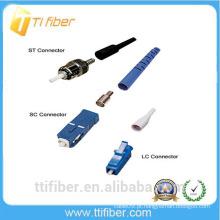 Shenzhen fábrica de oferecer todos os tipos de fibra óptica conector SC / FC / ST / LC
