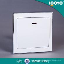 Interruptores elétricos da parede da lâmpada da tecla de Igoto B9020 20A de China