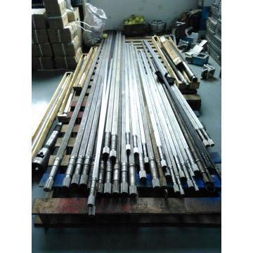 CE&ISO9001 certificate twin-screw screw shaft