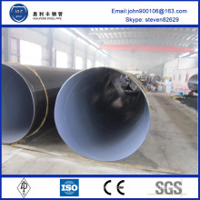High Quality FBE outer coating spiral pipe made in china