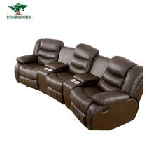 Wholesale Furniture Design 3 Seater Cinema Recliner Chair Home Theater, Home Cinema Sofa 5 Seat