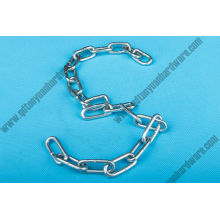 Marine Hardware Parts Lifting Welded Steel Iron Link Chain