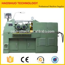 Máquina perfiladora de roscado hidráulico de dos ejes para tornillos y pernos y varillas de acero
