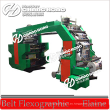 Máquina de impresión flexográfica tejida / saco para bolsa tejida y saco