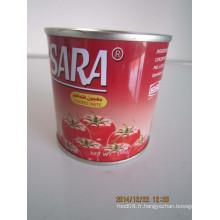 Pâte de tomate en conserve 198 g avec haute qualité