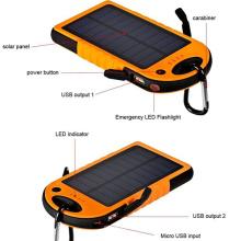 2016 luz solar portátil do diodo emissor de luz do cambiador