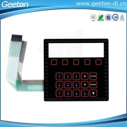 PET Keypad Button Material membrane keyboard switch And Electronic Instrument Application