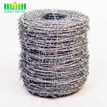Anti-corrosion+Galvanized+Barbed+Wire+Fence+For+Sale
