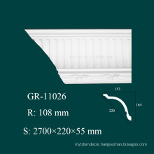 construction material PU styrofoam moulding for house interior decoration