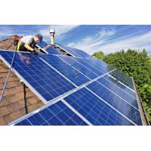 Решетки на крыше Солнечная Домашняя система 100W