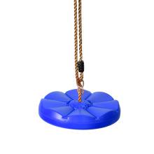 Balanço de árvore de disco de plástico infantil ao ar livre