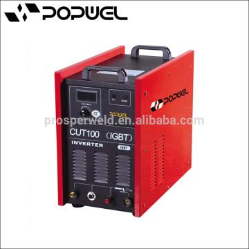 Máquina de corte del plasma del aire del inversor de la alta calidad CUT100 IGBT