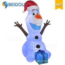 Cartoon Character Giant Bear Santa Inflatable Christmas Olaf
