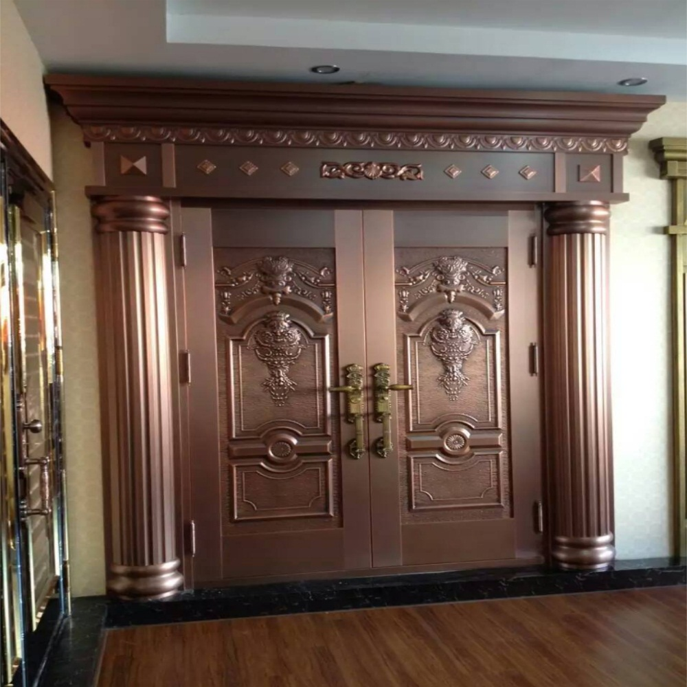 pure copper door 5