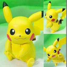 Personalizada Mini Anime Figura Plastic Mascote Traje Enfeites Boneca Brinquedos