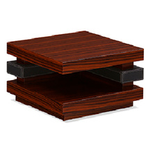 High Quality Small Corner Cherry Wood End Tables (FOH-UPC07)