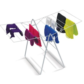 Metal Folding X Style Rack