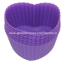 DIY Silicone Cake Tools, Easy to Clean, FDA, LFGB and RoHS Marks, Various Colors Available