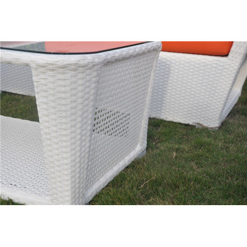 Rattan sofa outdoor flat wicker circle furniture