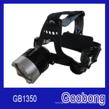 Супер яркий светодиодный CREE T6 аккумуляторная головная / светодиодная фара / светодиодная фара